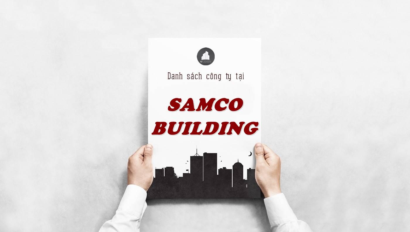 Danh sách công ty thuê văn phòng tại Samco Building, Quận 10