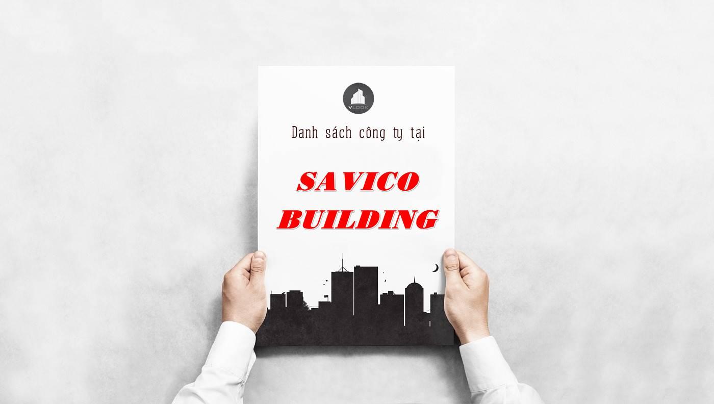 Danh sách công ty thuê văn phòng tại Savico Building, Quận 1