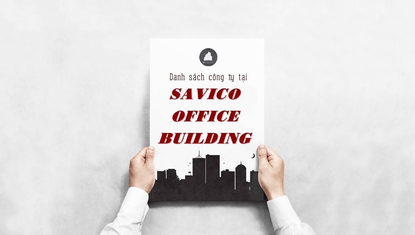 Danh sách công ty thuê văn phòng tại Savico Office Building, Quận 1
