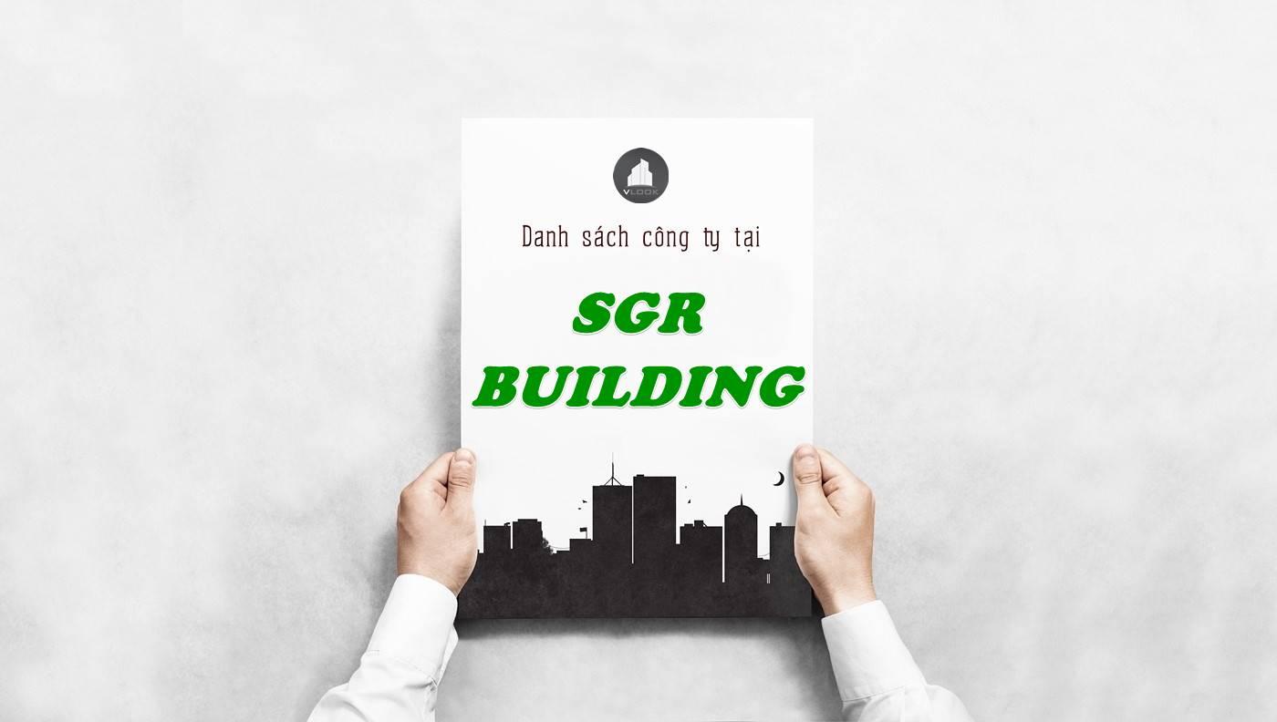 Danh sách công ty tại tòa nhà SGR Building, Quận 1