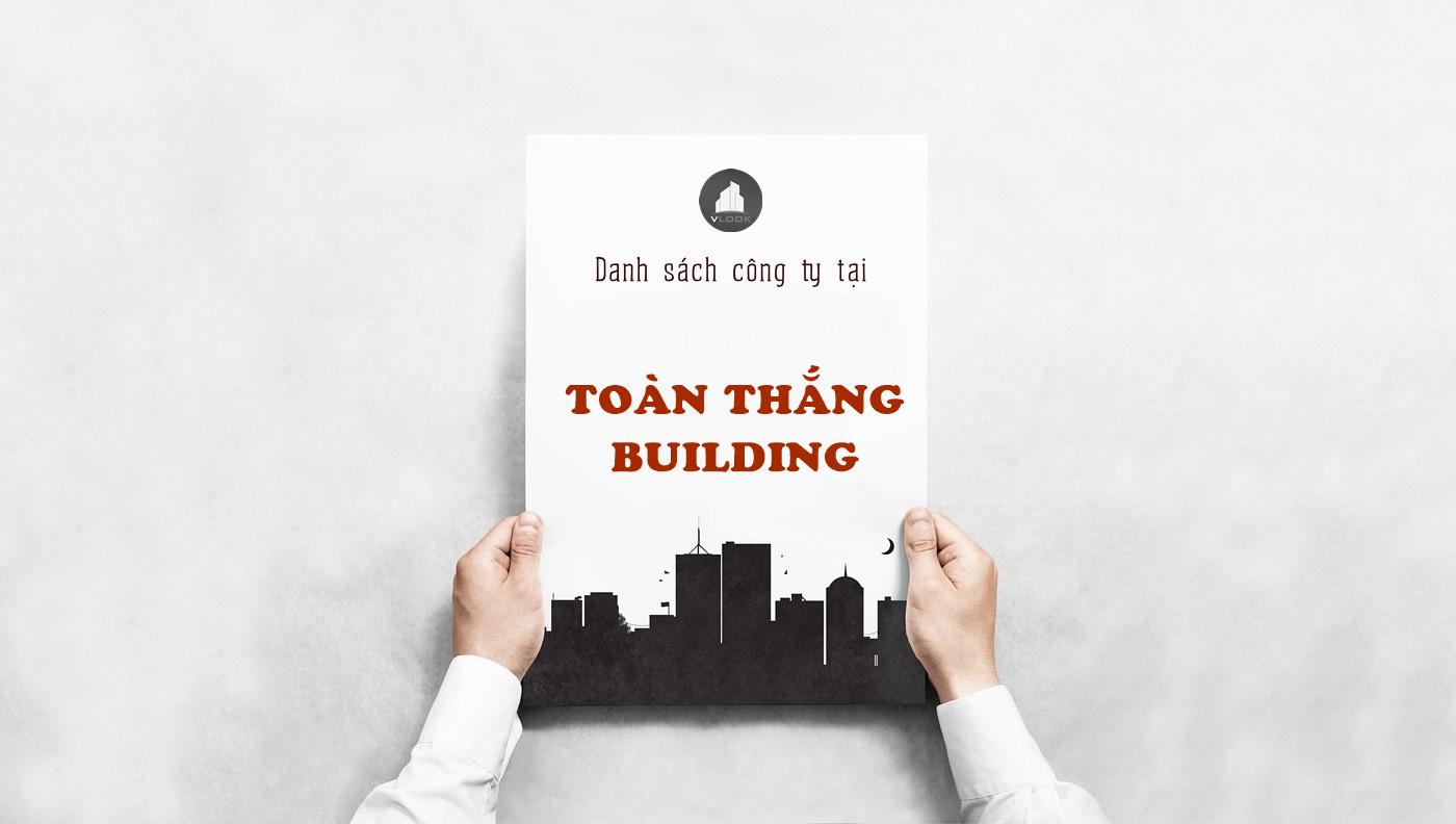 Danh sách công ty tại tòa nhà Toàn Thắng Building, Trường Sơn, Quận Tân Bình