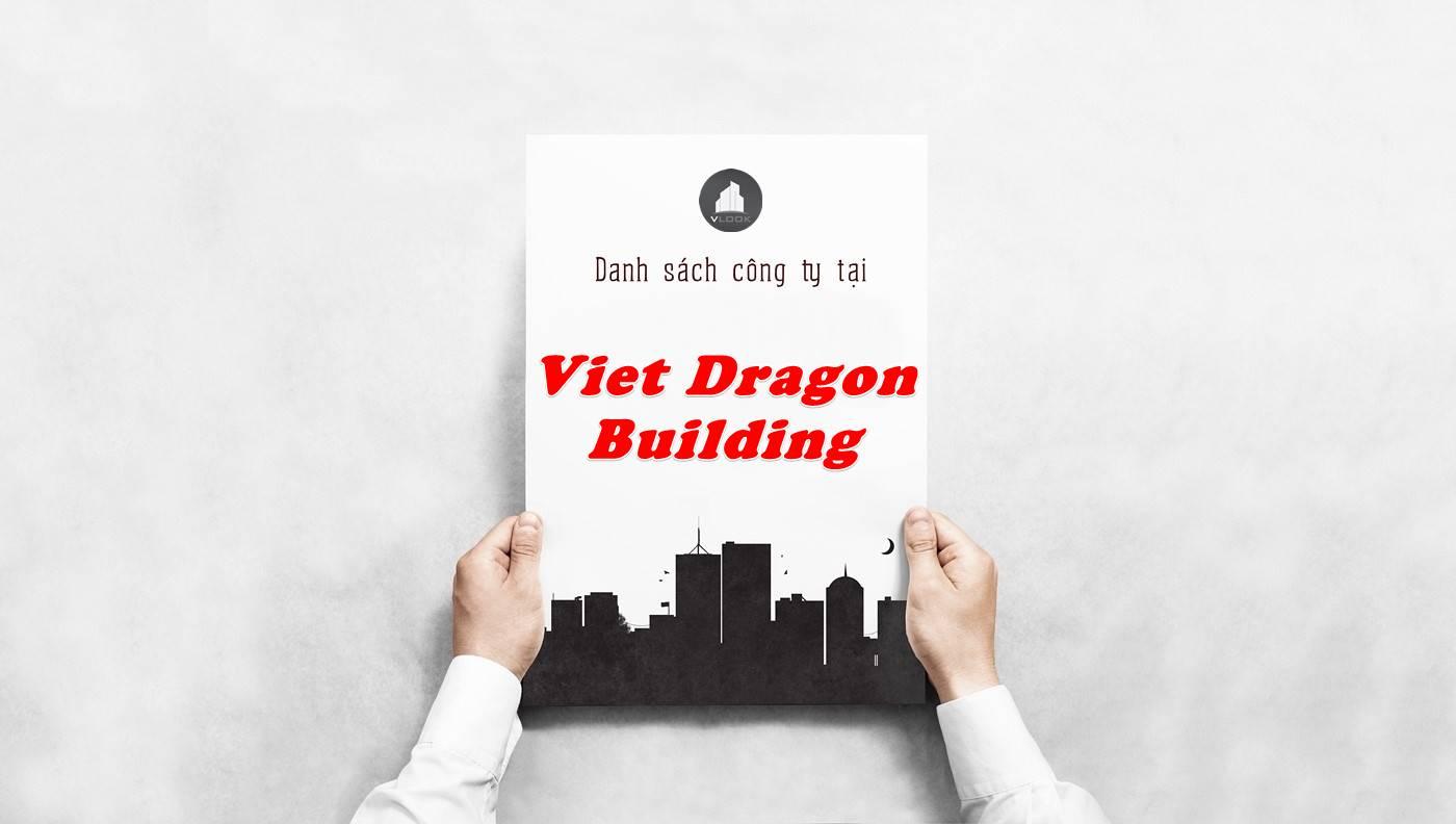Danh sách công ty thuê văn phòng tại Việt Dragon Building, Quận 1