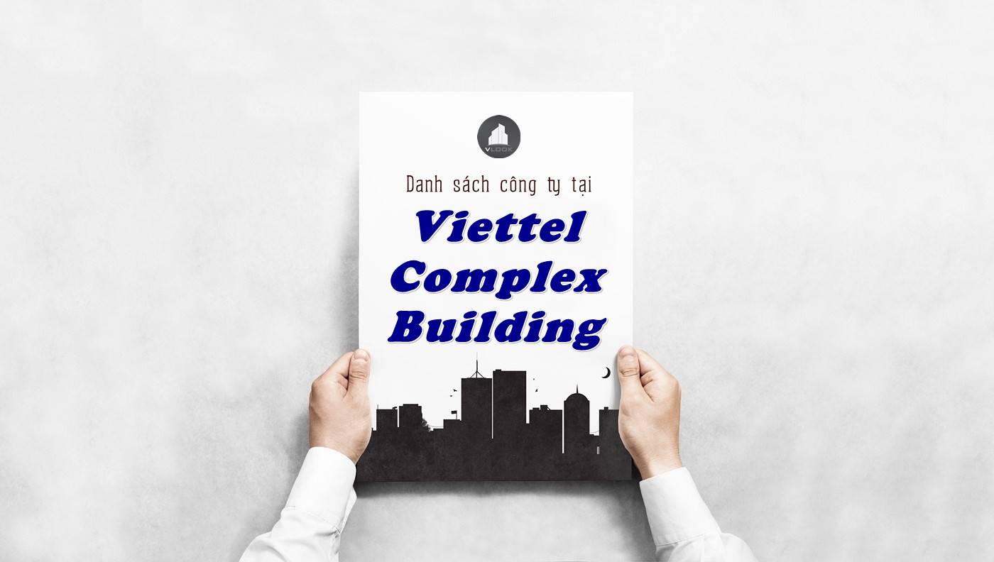 Danh sách công ty thuê văn phòng tại Viettel Complex Building, Quận 10