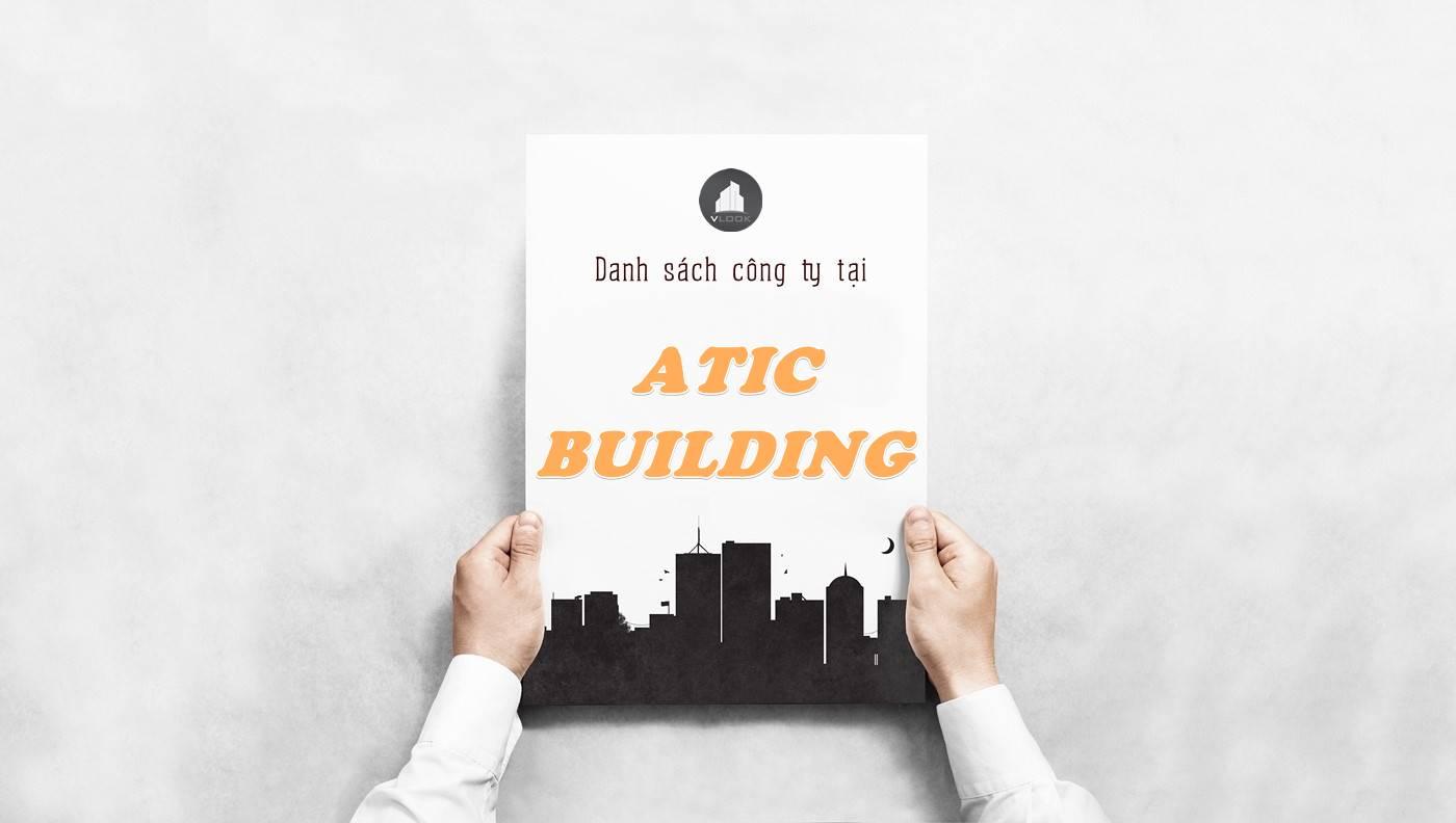 Danh sách công ty thuê văn phòng tại Atic Building, Quận 1