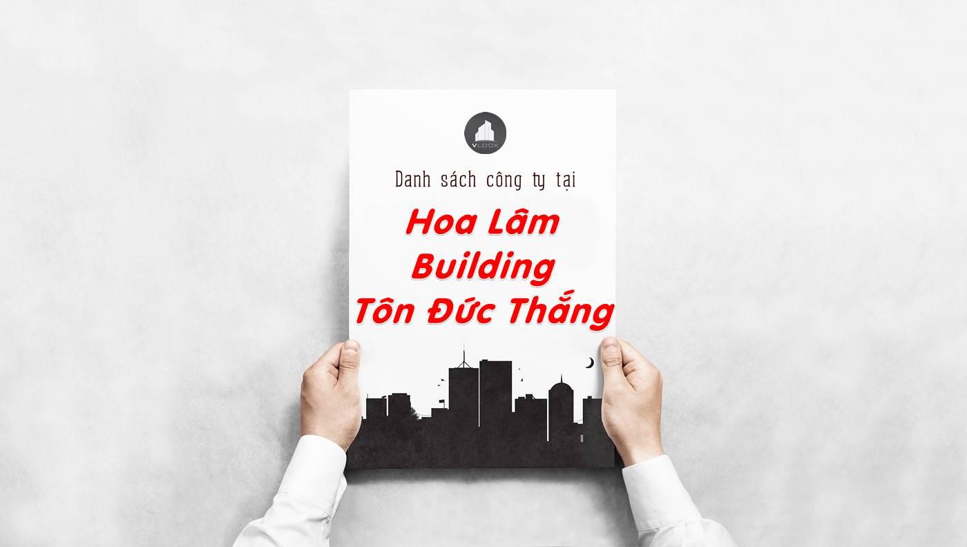 Danh sách công ty thuê văn phòng tại Hoa Lâm Building Tôn Đức Thắng, Quận 1