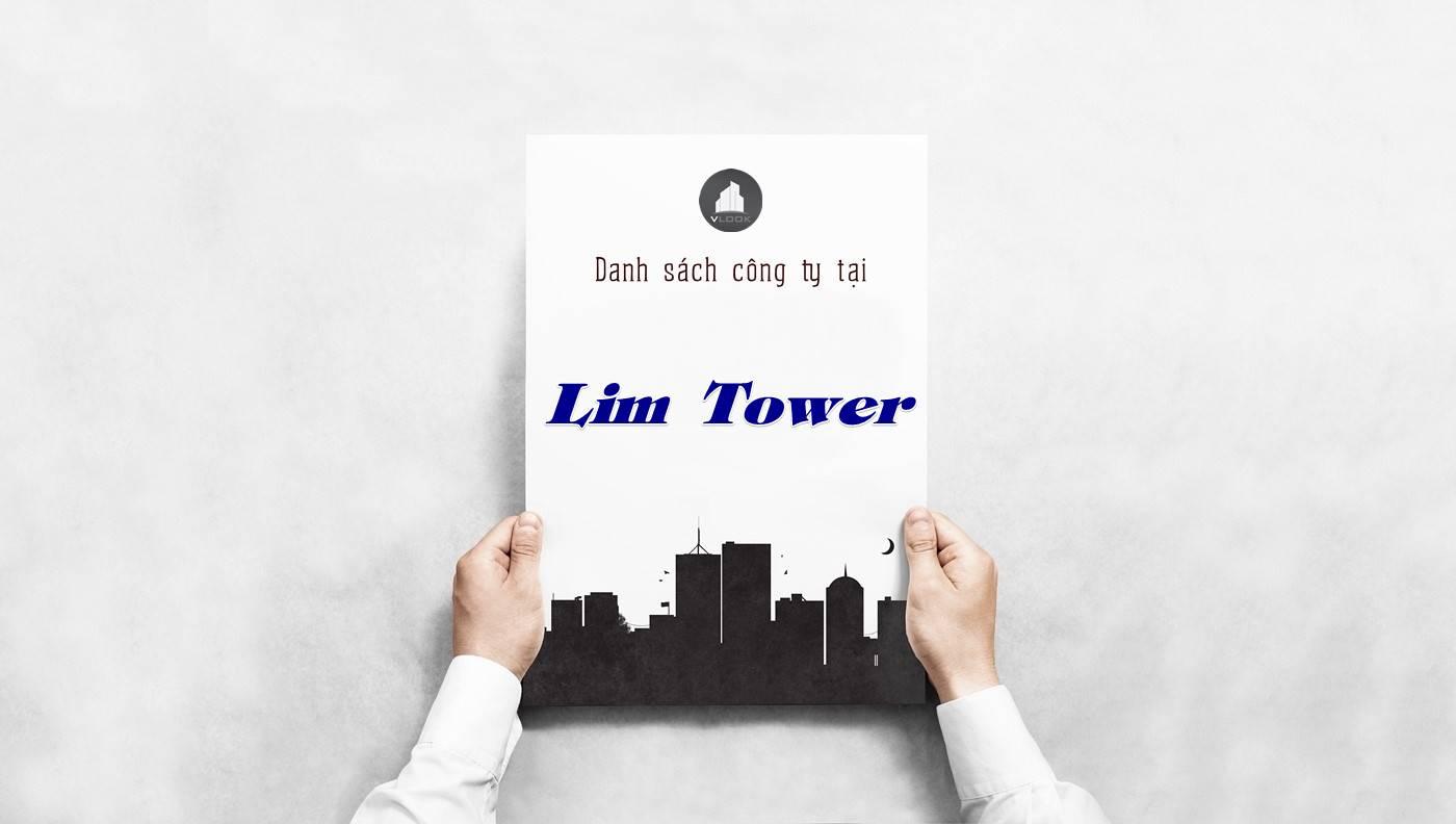 Danh sách công ty thuê văn phòng tại Lim Tower, Quận 1