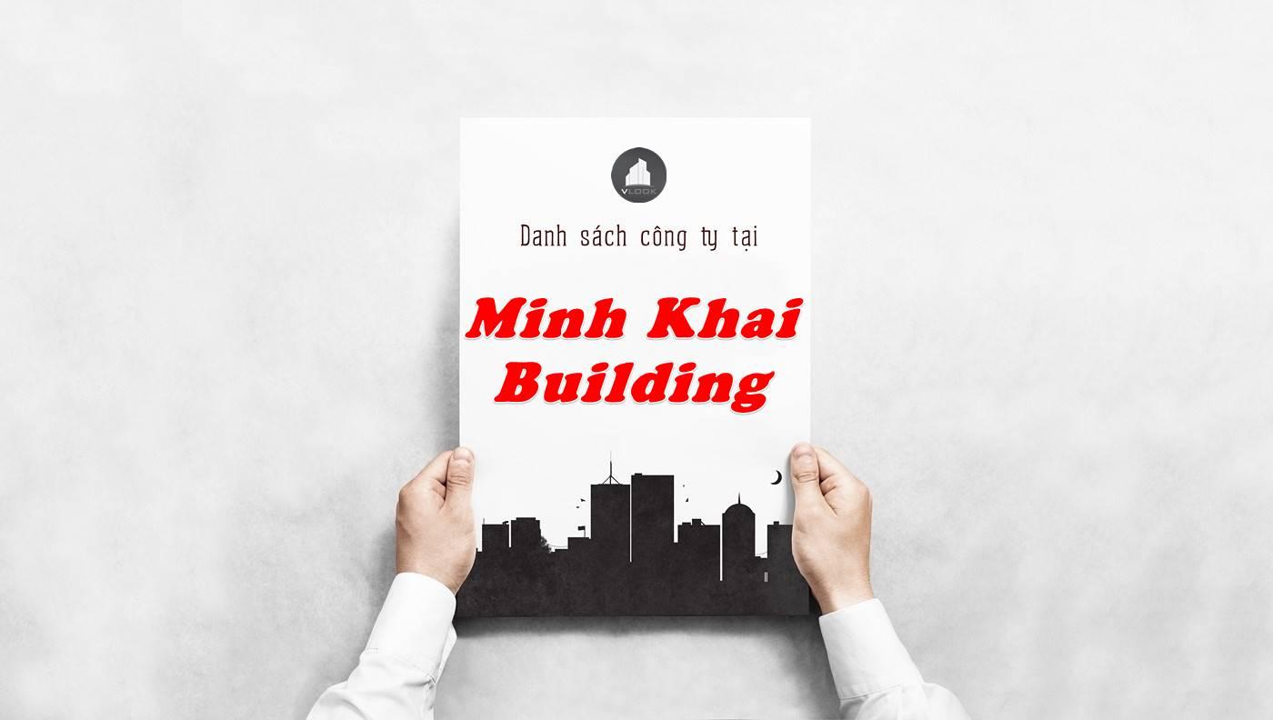 Danh sách công ty thuê văn phòng tại Minh Khai Building, Quận 1