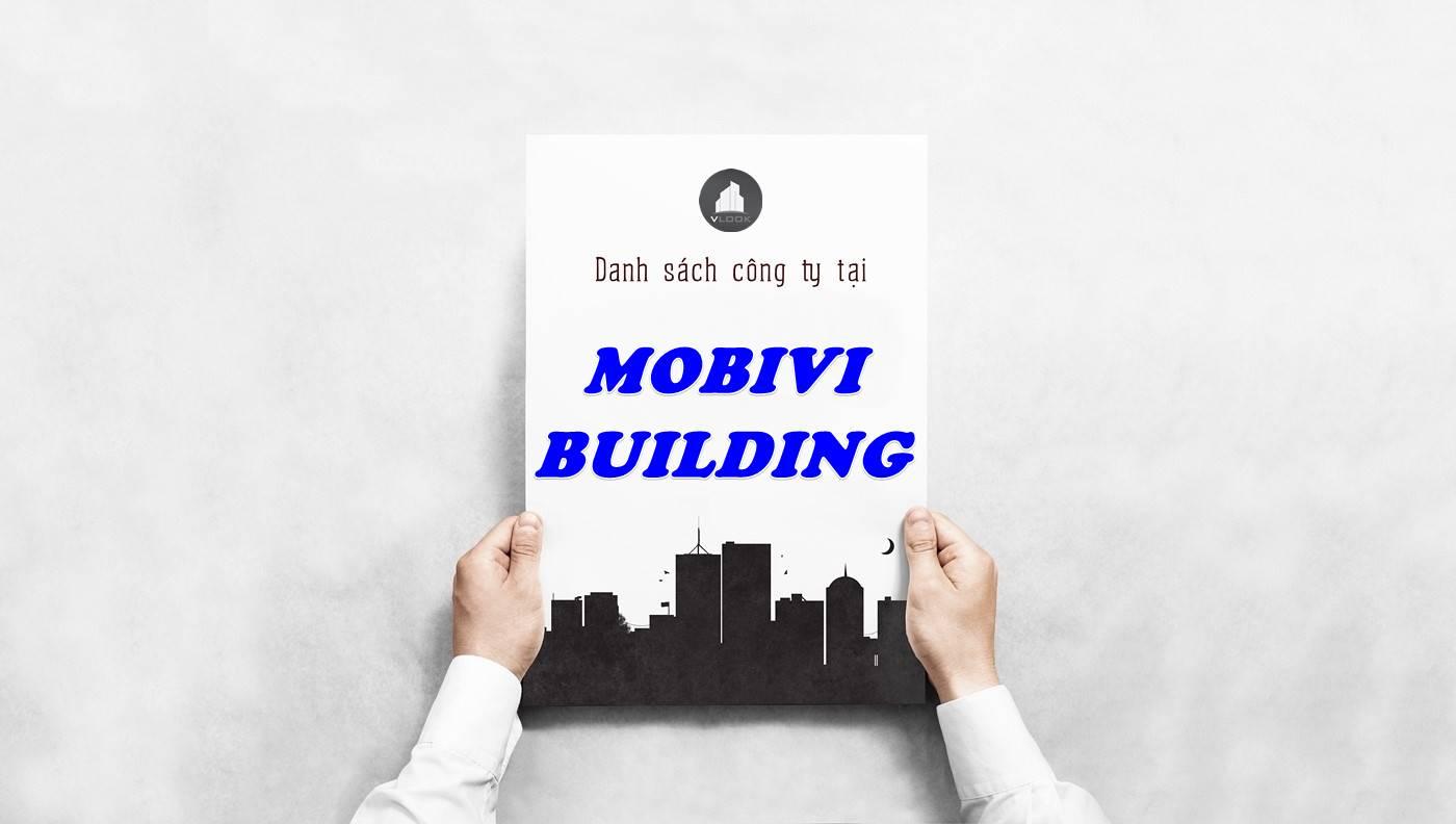 Danh sách công ty thuê văn phòng tại Mobivi Building, Quận 1
