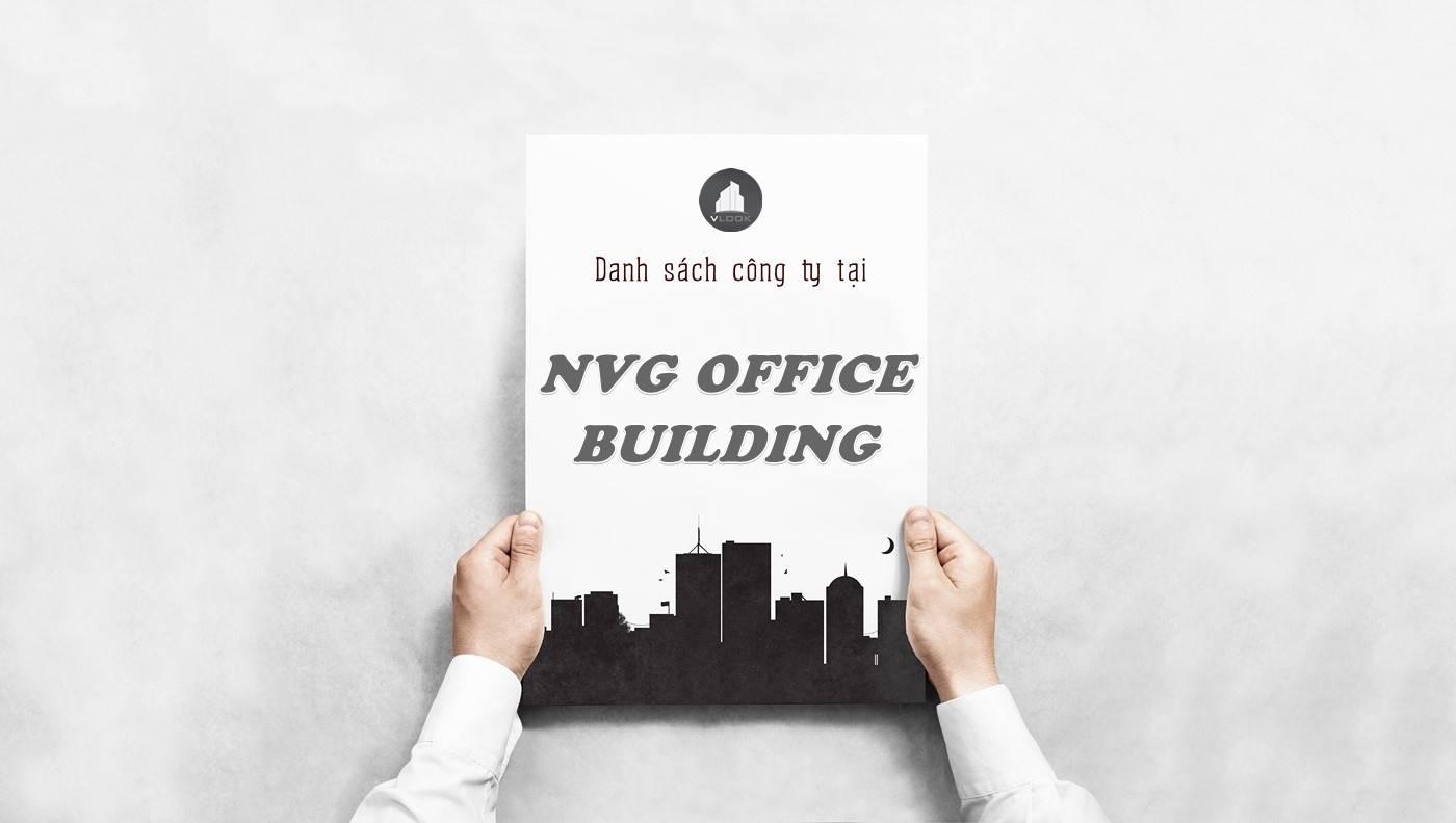 Danh sách công ty thuê văn phòng tại NVG Office Building, Quận 1