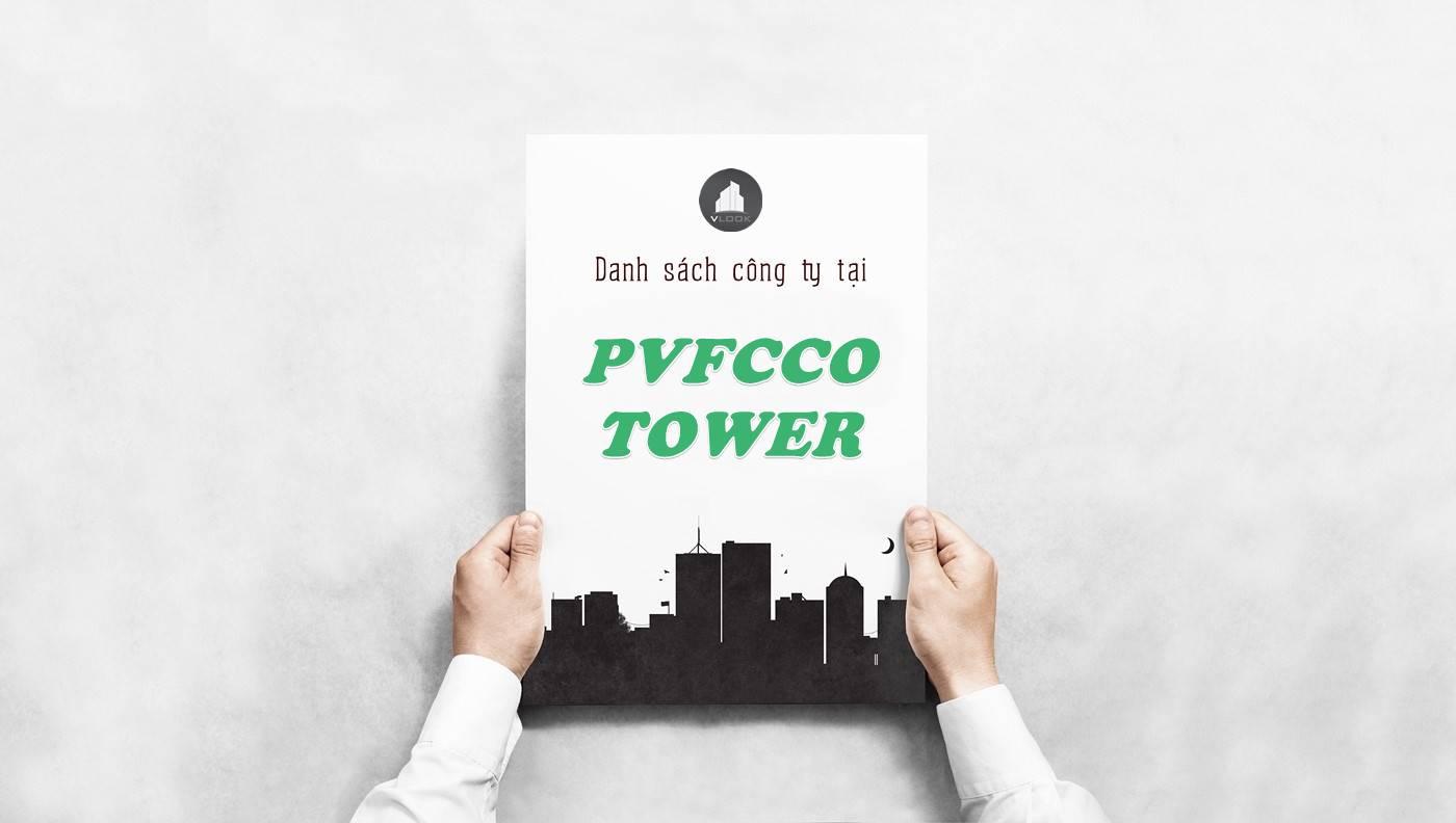 Danh sách công ty thuê văn phòng tại PVFCCo Tower, Quận 1
