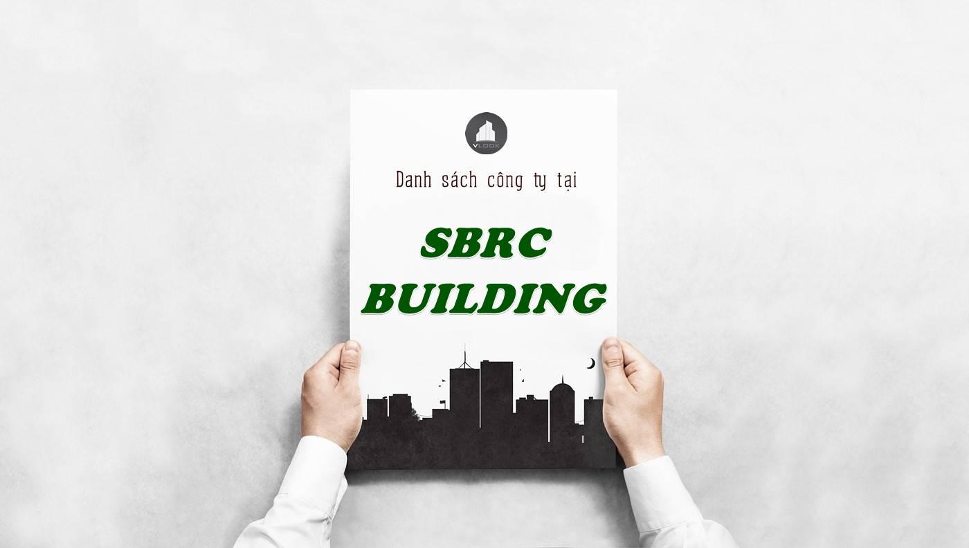 Danh sách công ty thuê văn phòng tại SBRC Building, Quận 1