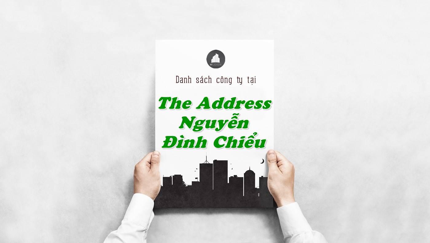 Danh sách công ty thuê văn phòng tại The Address Nguyễn Đình Chiểu, Quận 1