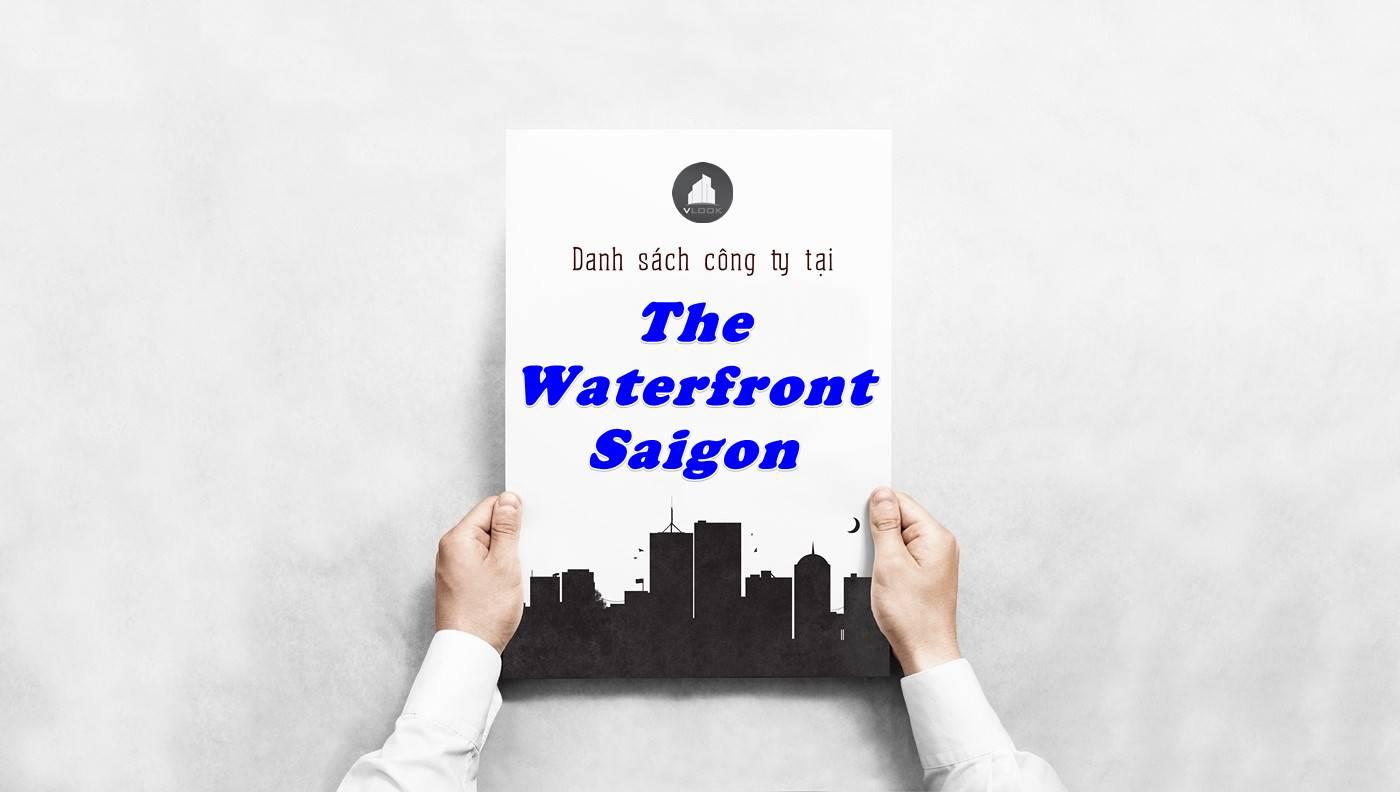 Danh sách công ty thuê văn phòng tại The Waterfront Saigon, Quận 1