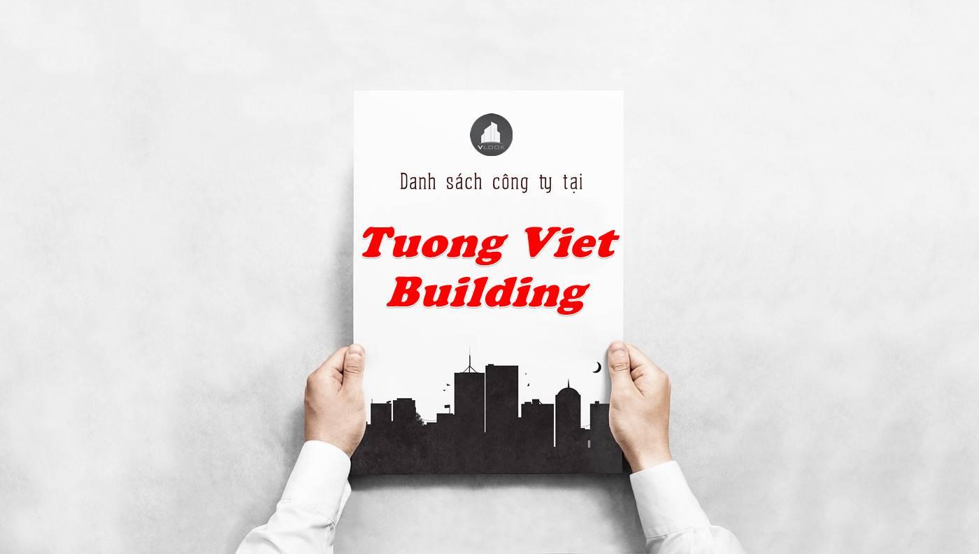Danh sách công ty thuê văn phòng tại Tường Việt Building, Quận 1