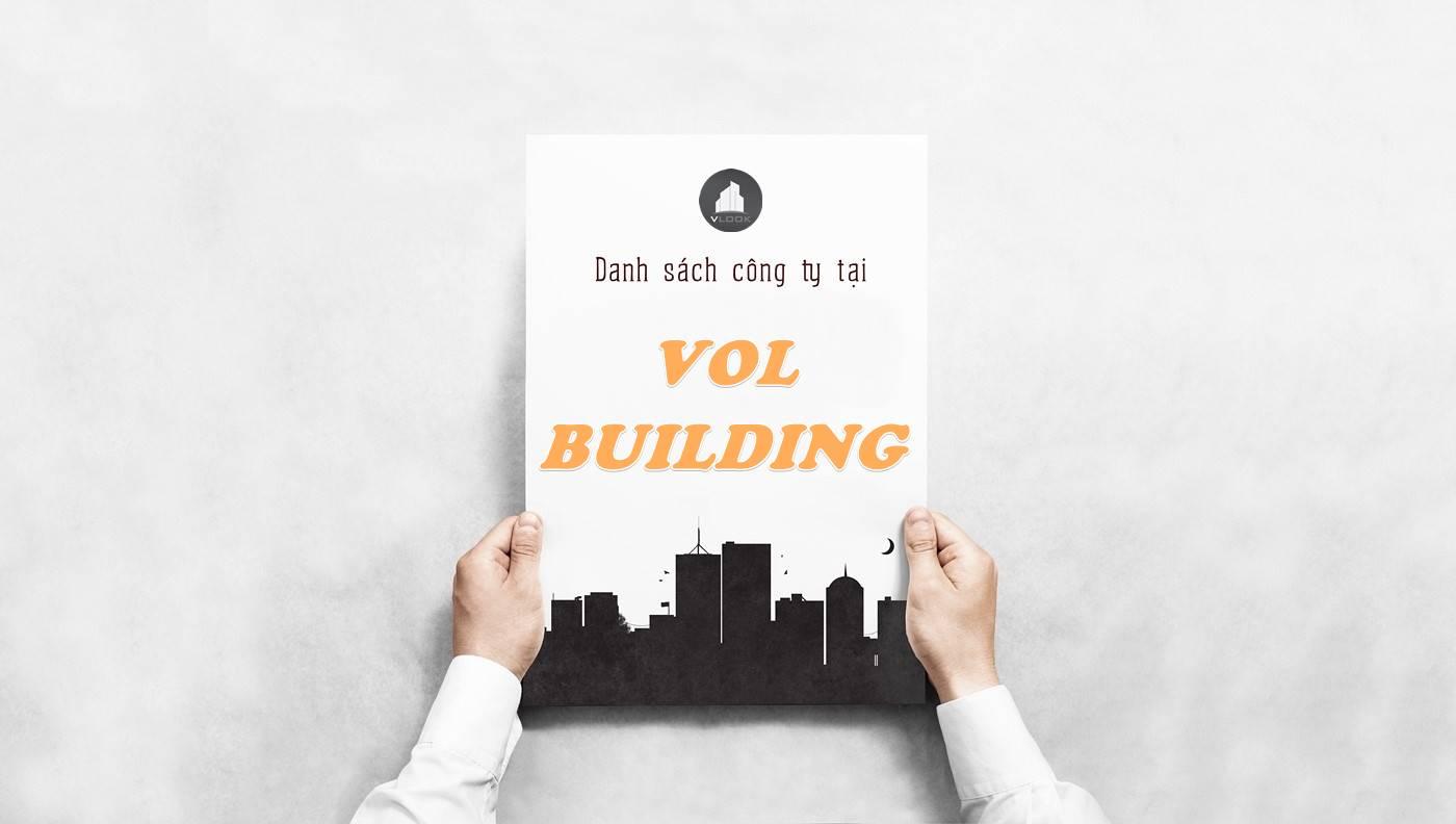 Danh sách công ty thuê văn phòng tại tòa nhà VOL Building, Quận 1