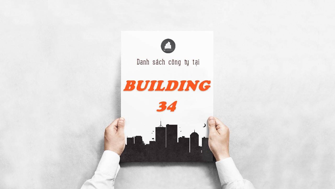 Danh sách công ty thuê văn phòng tại Building 34, Quận 2