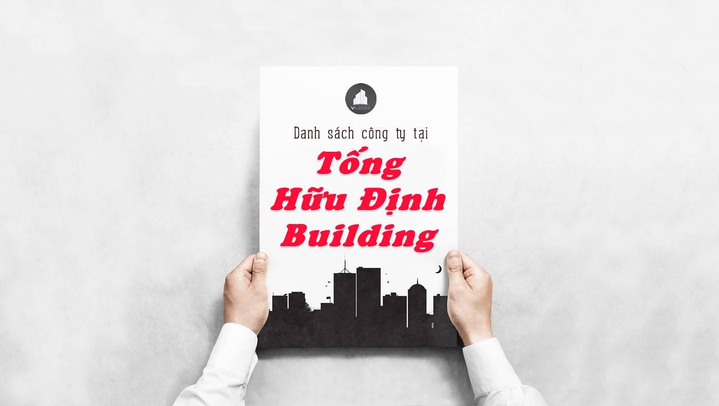 Danh sách công ty thuê văn phòng tại Tống Hữu Định Building, Quận 2