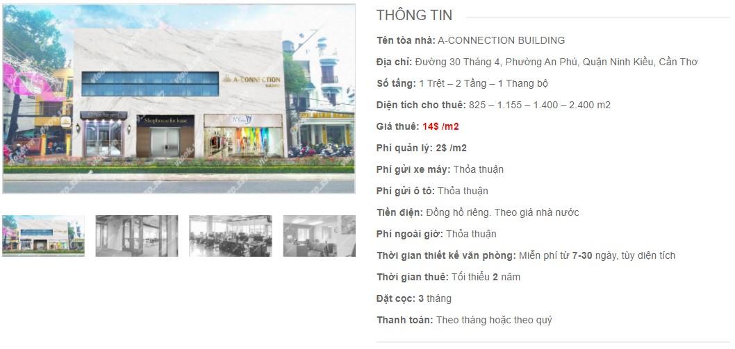Danh sách công ty thuê văn phòng tại A-Connection Building, Cần Thơ