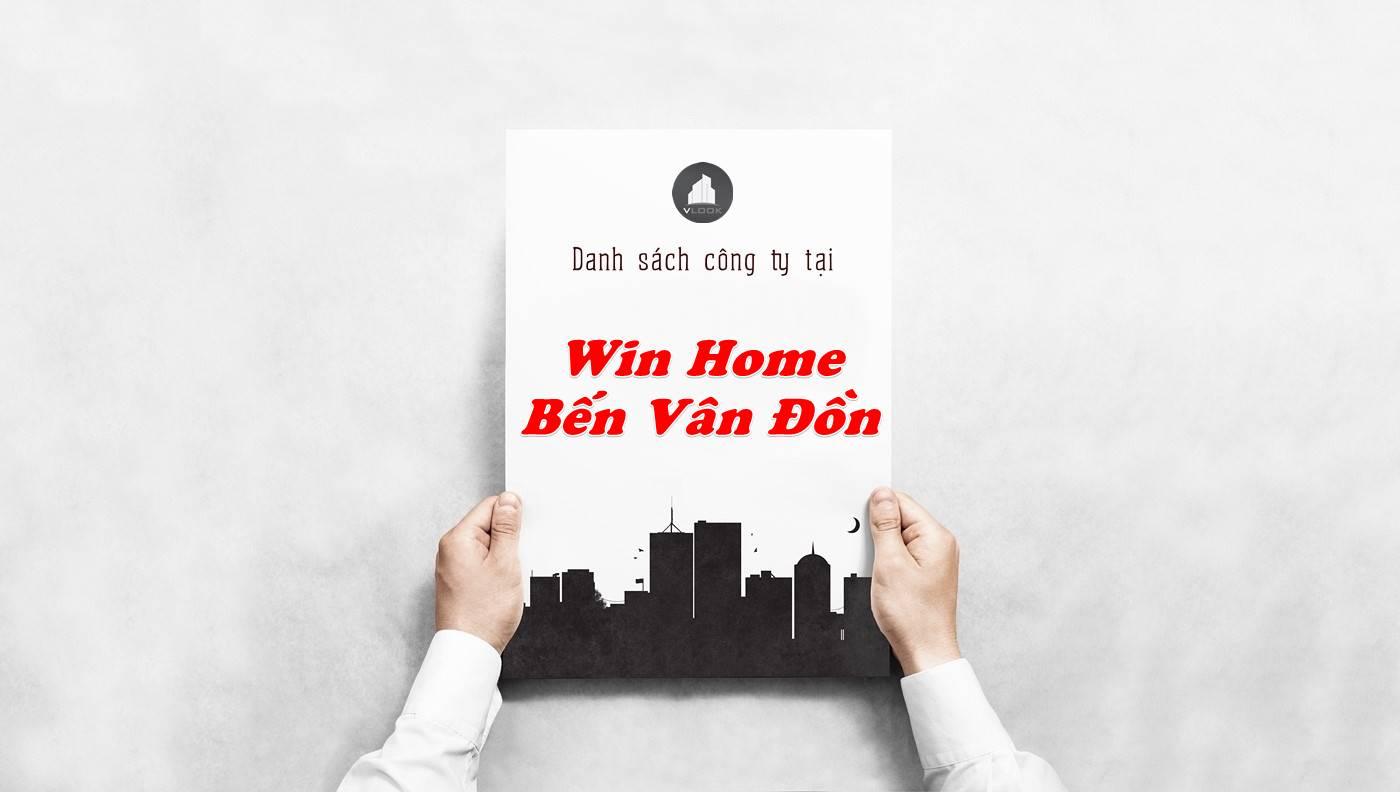 Danh sách công ty thuê văn phòng tại Win Home Bến Vân Đồn, Quận 4