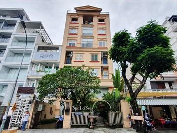 Cao ốc cho thuê văn phòng tòa nhà Lá Sen Building, Xuân Thủy, Phường Thảo Điền, Quận 2, TPHCM - vlook.vn