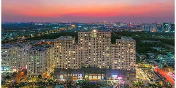 Cao ốc cho thuê văn phòng tòa nhà Saigon Mia, Đường 9A, KDC Trung Sơn, Huyện Bình Chánh, TPHCM - vlook.vn