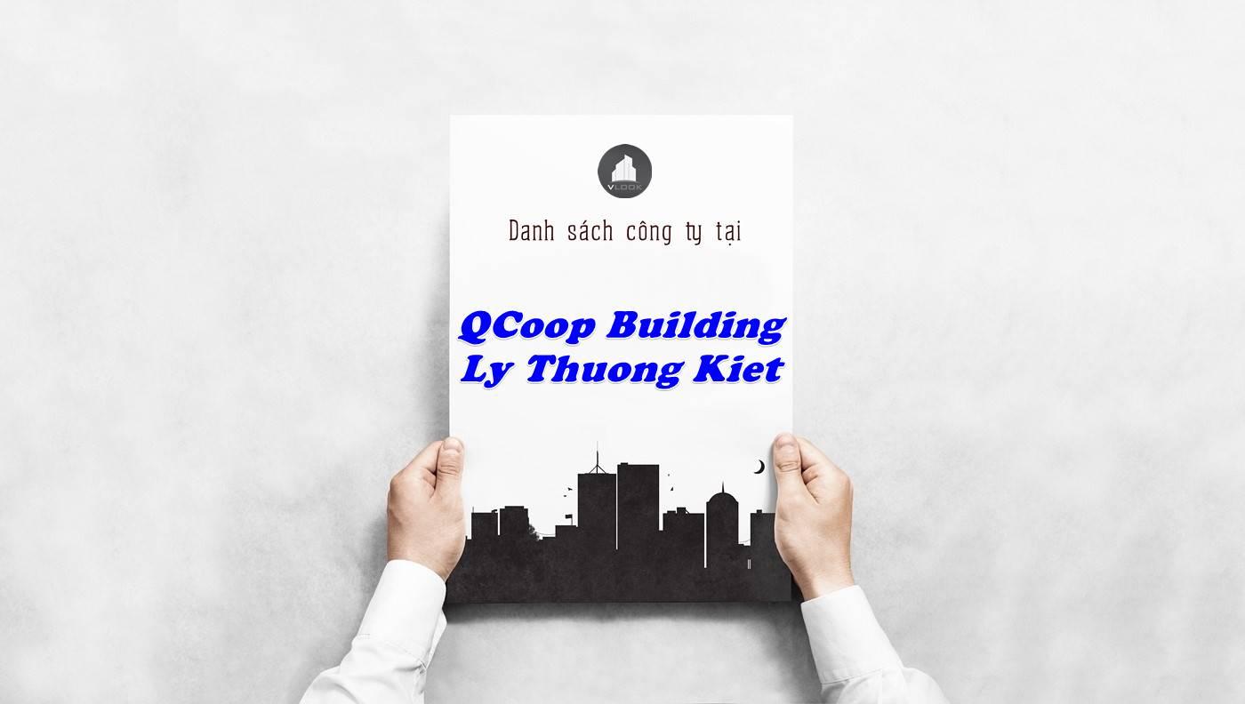 Danh sách công ty thuê văn phòng tại QCoop Building Lý Thường Kiệt, Quận Tân Bình