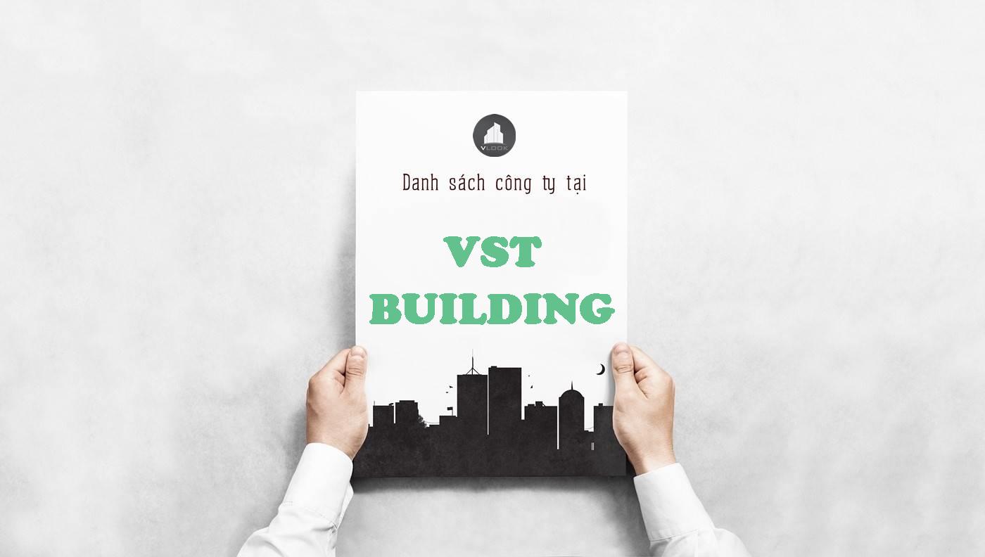 Danh sách công ty thuê văn phòng tại VST Building, Quận Phú Nhuận