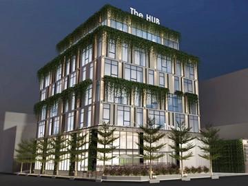 Cao ốc cho thuê văn phòng tòa nhà The Hub Building, Điện Biên Phủ, Quận Bình Thạnh, TPHCM - vlook.vn