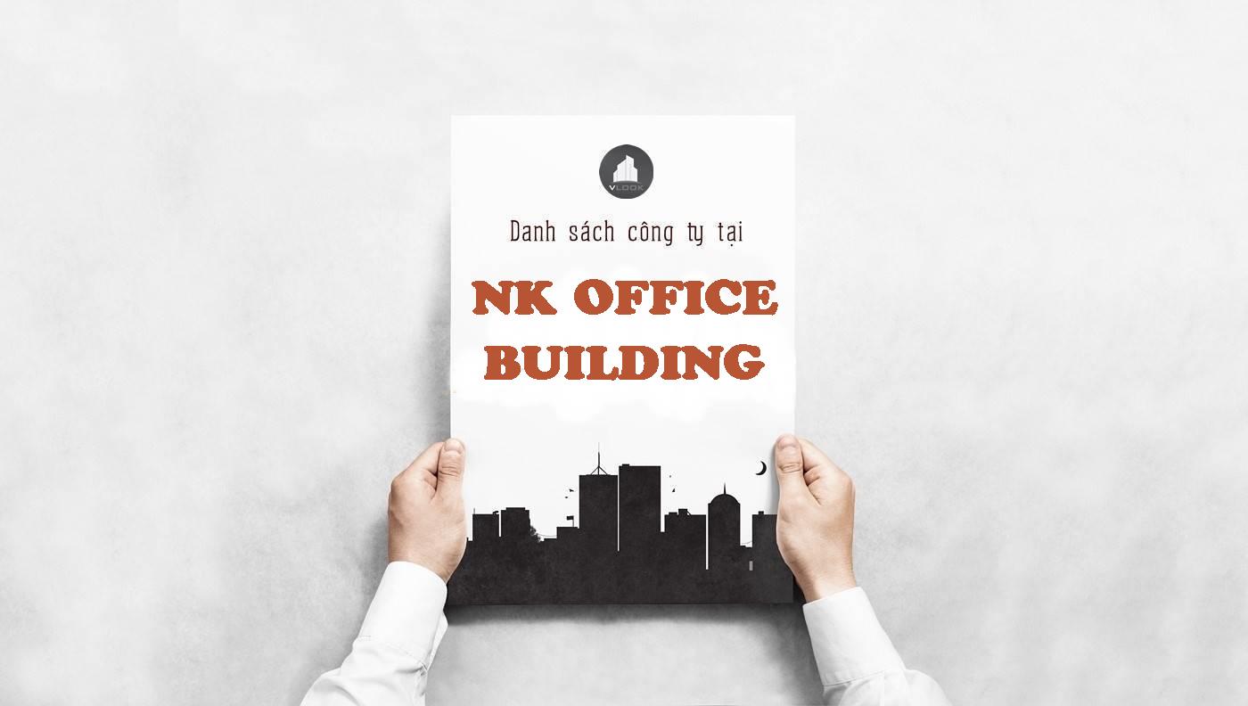 Danh sách công ty thuê văn phòng tại tòa nhà NK Office Building, Quận Phú Nhuận