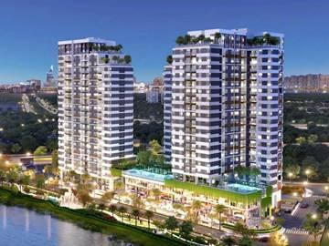Cao ốc văn phòng cho thuê toà nhà D'Lusso An Phú, Nguyễn Thị Định, Quận 2, TP Thủ Đức, TPHCM - vlook.vn