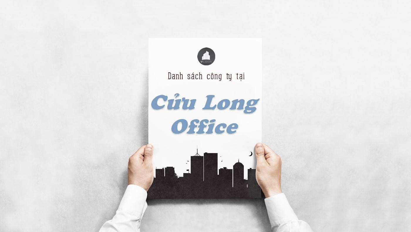 Danh sách công ty thuê văn phòng tại tòa nhà Cửu Long Office, Quận Tân Bình
