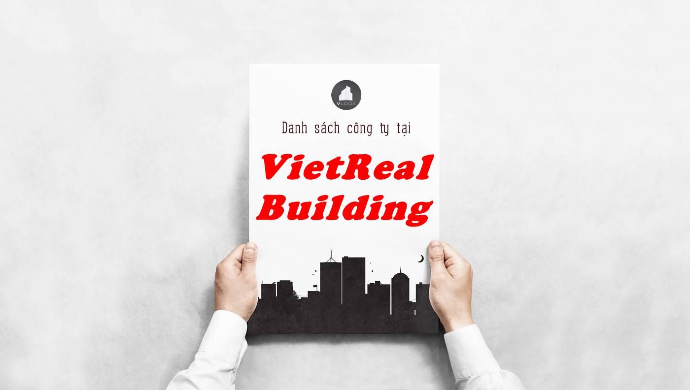 Danh sách công ty thuê văn phòng tại toà nhà VietReal Building, Quận 2