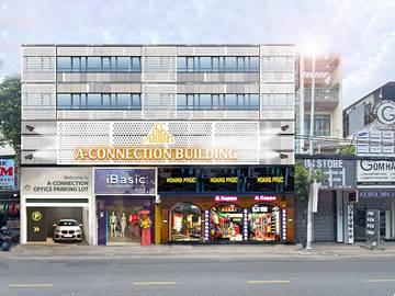 Cao ốc văn phòng cho thuê toà nhà A-Connection Cách Mạng Tháng Tám , Quận Tân Bình, TPHCM - vlook.vn