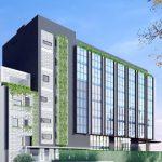 Cao ốc văn phòng cho thuê tòa nhà M.G Building Bờ Bao Tân Thắng, Quận Tân Phú - vlook.vn