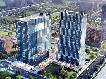 Cao ốc văn phòng cho thuê tòa nhà Cobi Tower I, Hoàng Văn Thái, Quận 7 - vlook.vn