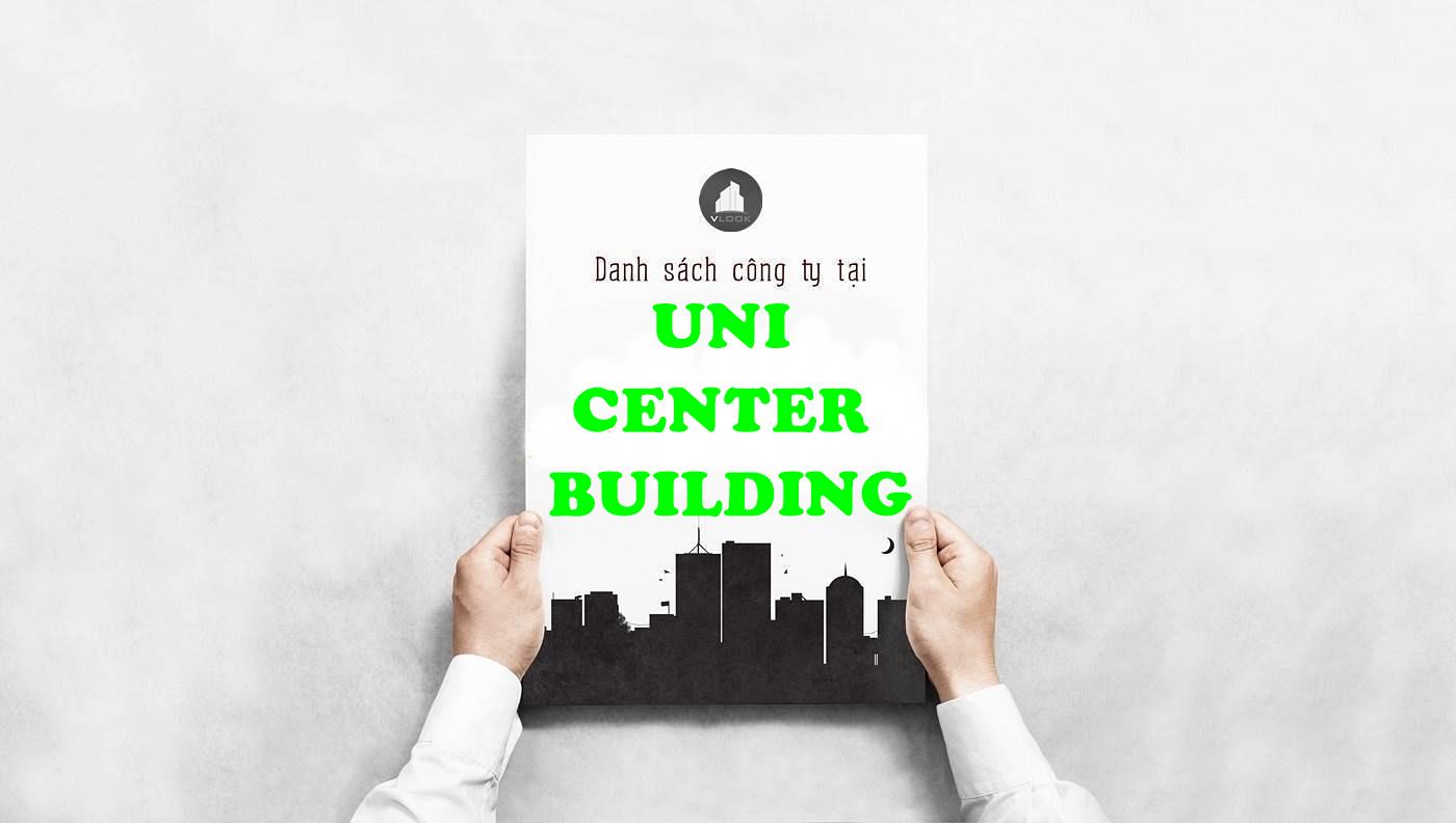 Danh sách công ty thuê văn phòng tại tòa nhà Uni Center Building, Ngô Văn Năm, Quận 1