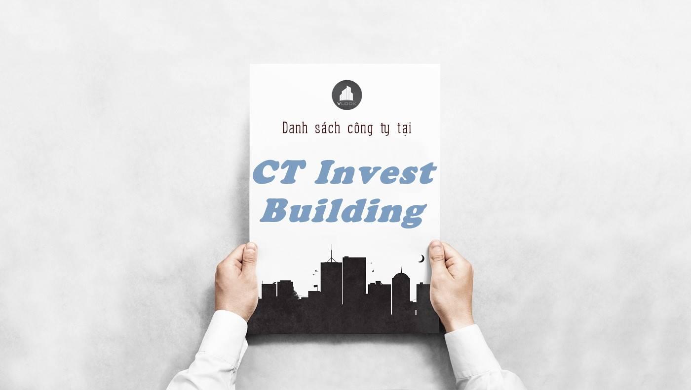 Danh sách công ty thuê văn phòng tại tòa CT Invest Building, Quận 12
