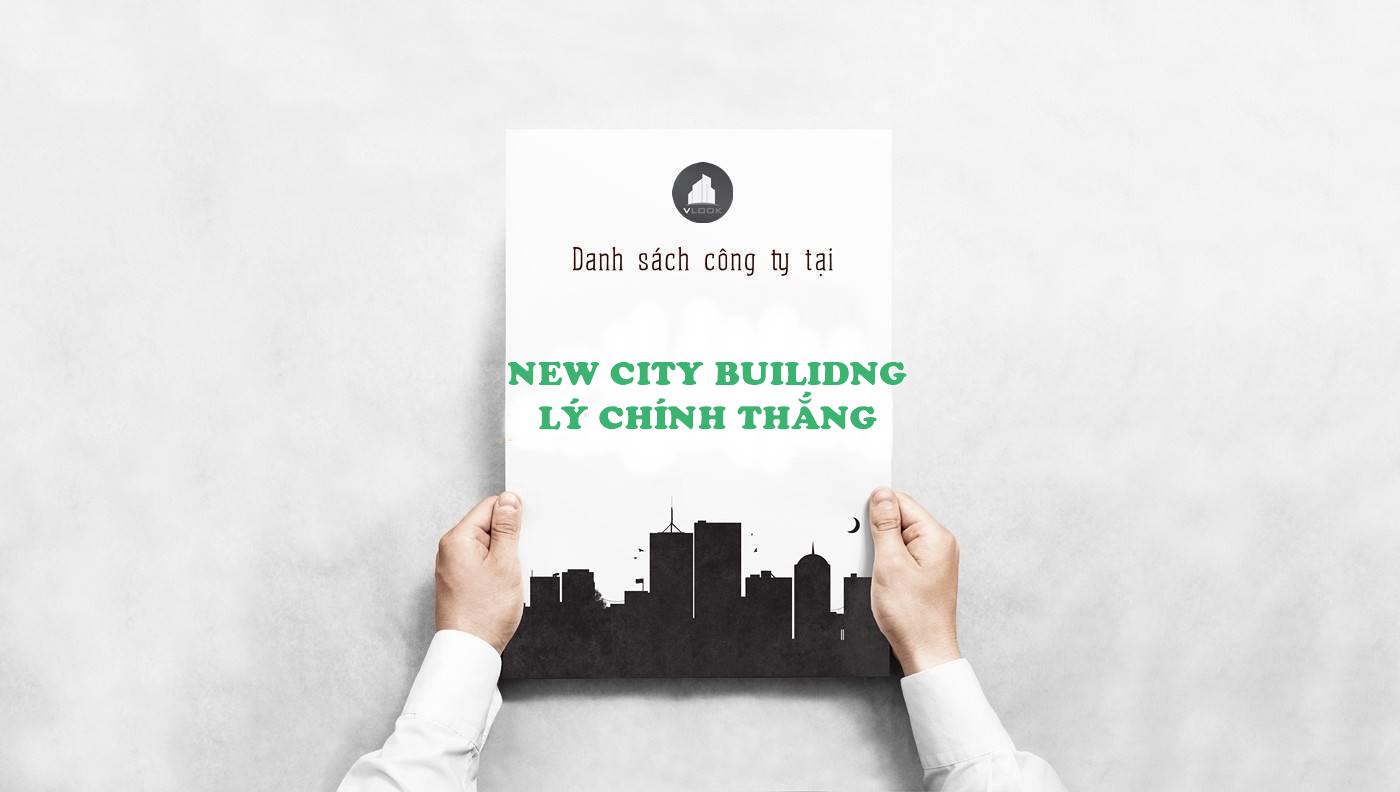 Danh sách công ty thuê văn phòng tại New City Building Lý Chính Thắng, Quận 3