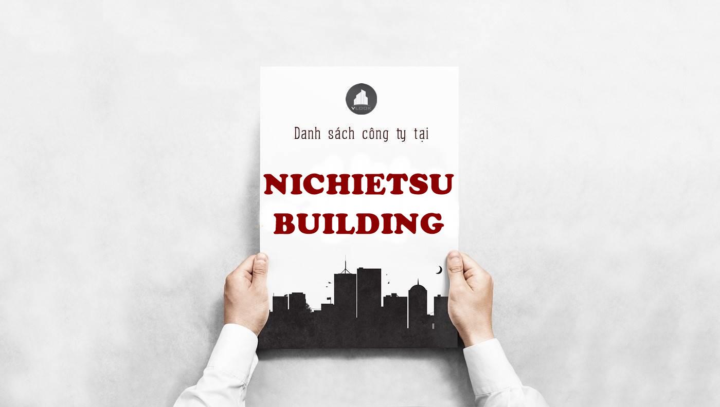 Danh sách công ty thuê văn phòng tại tòa nhà Nichietsu Building, Quận Bình Thạnh