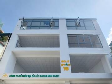 Cao ốc văn phòng cho thuê tòa nhà Gold Star 15, Nơ Trang Long, Quận Bình Thạnh - vlook.vn