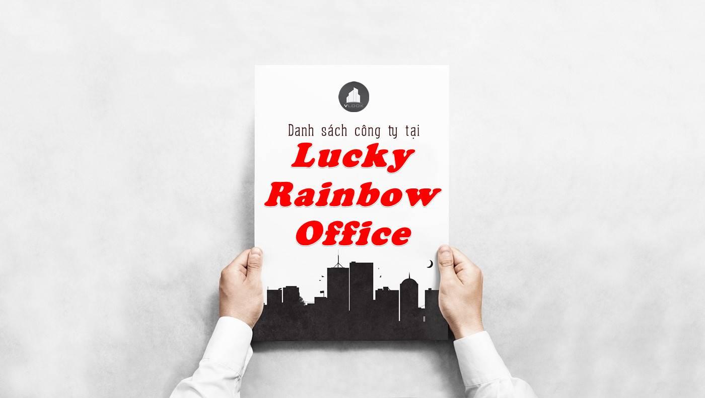Danh sách công ty tại tòa nhà Lucky Rainbow Office, Quận Tân Bình