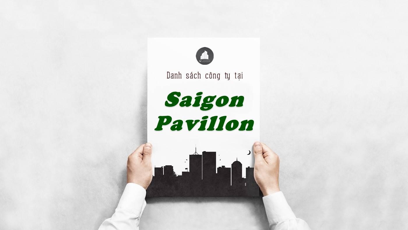 Danh sách công ty thuê tại tòa nhà Saigon Pavillon, Quận 3